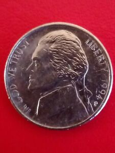 1994 US 5 cents coin. Circulated & Collectable!