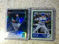 2020 Chronicles Spectra Signatures CHRIS PADDACK Auto/199 &Gavin Lux Classics RC
