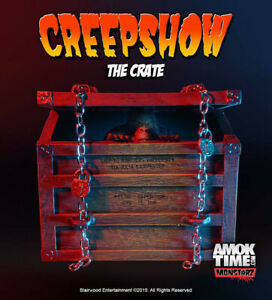 "Monstarz Creepshow ""The Crate"" 3.75"" Scale Retro Action Figure Fluffy monster"
