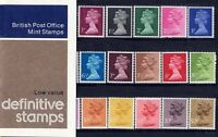 GB Presentation Pack 90 1977 MACHIN DEFINITIVE STAMPS LOW VALUE