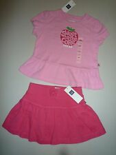 NWT Baby Gap Girls Skirt & T-Shirt Set ~ Size 18-24 Months