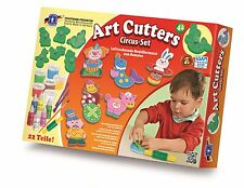 FEUCHTMANN Art-Cutters Circus-Set mit Relief Ausstechförmchen Basteln Kneten