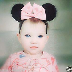 Disney Mickey Minnie Mouse Baby Girl Headband Newborn Toddler Girls Headbands