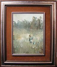 Patrick Shirvington original oil 'A Bit Marshy' Australian Marsh