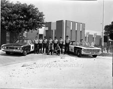 Old Photo. Florida Keys. Police Department & Cars - Whitehead Street