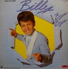 ++BILLY bye bye/le rock à billy MAXI PROMO 1984 POLYDOR RARE VG++