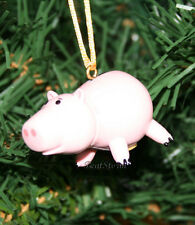 NEW Disney TOY STORY HAMM PINK PIG COIN MONEY BANK Christmas Ornament PVC