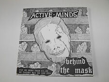 """ACTIVE MINDS - """"Behind The Mask"""" 7"""" EP. Political hardcore punk."""