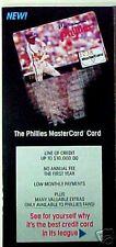 1989 Mike Schmidt Phillies MLB Baseball Master Card Pamphlet Oddball Sports Item