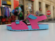 BIO LINE Kinder Sandale Gr. 32 - 33 Bunt True Vintage  made in Italy
