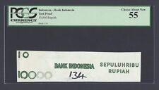 Indonesia - Bank Indonesia 10000 Rupiah Test Proof Vignette About Uncirculated