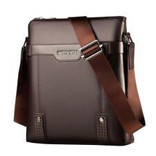 Men's Soft Leather Messenger Bag Business Shoulder Crossbody Handbag Briefcase