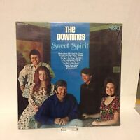 """The Downings """"Sweet Spirit"""" 1973 Religious LP, Nice VG++!, on Vista, with Shrink"""