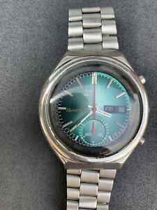 Seiko 5 Bruce Lee 6139-6012 Speedtimer Automatic Vintage Watch