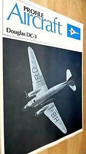 PROFILE PUBLICATIONS AIRCRAFT #96: DOUGLAS DC-3 (1971)
