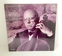 THE ART OF PABLO CASALS-NM1964LP MONO Treasury of Immortal Performances