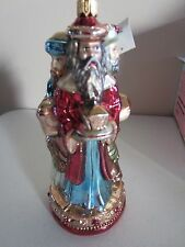 Dillard's We Three Kings Trimsetter Blown Glass Poland Ornament New