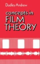 Concepts in Film Theory (Galaxy Books) Andrew, J. Dudley Paperback