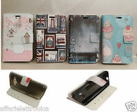PER ALCATEL ONE TOUCH POP C5 5036 5037 A CUSTODIA COVER FLIP LIBRO STAND GEL TPU