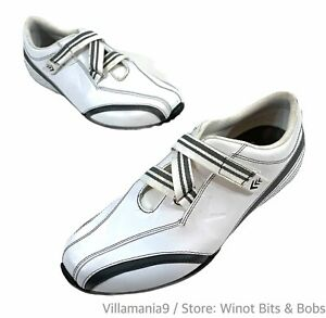 Callaway Spikeless Size 7.5 Hook and Loop Golf Shoes Women's White