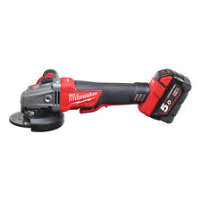 MILWAUKEE M18 FUEL ™ 115 mm SMERIGLIATRICE FRENANTE KIT m18cag115xpdb-502x - 4933451542