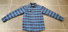 THE NORTH FACE MEN'S INSULATED PLAID FLANNEL SHIRT SNAP BUTTONS SZ S