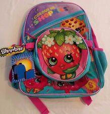 Strawberry Shopkins Glittery Combo  Backpack & Detachable Lunch Box NEW