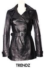 Abrigos y chaquetas de mujer gabardina piel