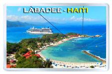 LABADEE HAITI FRIDGE MAGNET SOUVENIR IMAN NEVERA