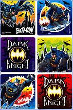 Batman Stickers - Glow in the Dark - Super Hero - Birthday Party Favours