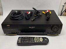 New listing Jvc Model Hr-S3800U Super Vhs Et Plug and Play Vcr Video Cassette Recorder S-Vhs