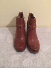 Kork Moonstone Round Toe Women's Leather Ankle Boots Size 9.5M