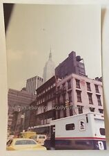 NYC New York City Photo West 27th St Empire State Building 1976 Vintage