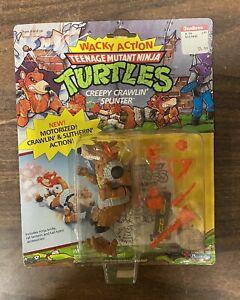 Teenage Mutant Ninja Turtles TMNT WACKY ACTION Creepy Crawlin' Splinter 1990