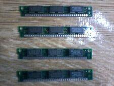 RETRO PC HB56G19B-7A 4 moduli SIMM RAM da 30Pin RAM MEMORY PARITY 4x1 Mbyte 70Ns
