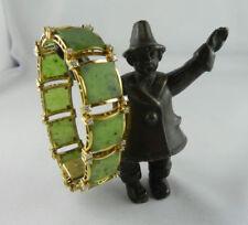 Armbänder mit Jade echten Edelsteinen im Armreif-Stil für Damen