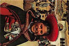 BR25462 Cuzco Reina de belleza indigena de Chinchero 2 scans  peru
