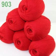6 bolas X 50 Gr Suave Acrílico Lana de Cachemira mano de ganchillo hilo Tejer Prendas tejidas 41