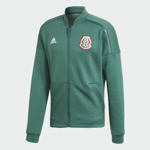 ADIDAS MEXICO Z.N.E. ZNE KNIT ANTHEM JACKET FIFA WORLD CUP 2018 Green/White