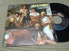"JACKSONS MICHAEL JACKSON SPANISH 7"" SINGLE SPAIN PROMO TORTURE EPIC 84"