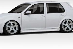 99-05 Volkswagen Golf 4DR R32 Duraflex Side Skirts Body Kit!!! 102183