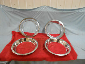 1967-68 Corvette Trim Rings, Original