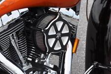 Harley 2014 2015 Streetglide Performance Billet Air Filter Kit Custom Black K&N