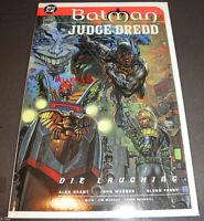 BATMAN JUDGE DREDD comic book DIE LAUGHTING #1 Alan Grant Glenn Fabry JOKER