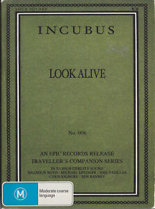 INCUBUS ~ LOOK ALIVE No. 006 DVD Traveller's Companion Series SAMPLE PRODUCT