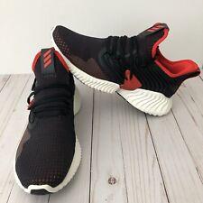 Adidas Alphabounce Instinct Mens Running Athletic Shoe Sz 11 Black Red D97313