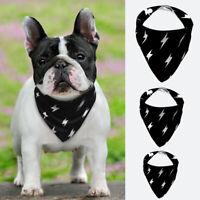 Bandana-Style Dog Collar Soft Cotton Neckerchief Pet Puppy Cat Doggie Neck Scarf
