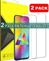 2 PACK PREMIUM GORILLA-TEMPERED GLASS SCREEN PROTECTOR FOR SAMSUNG GALAXY A70