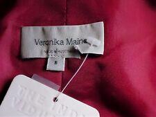 VERONIKA MAINE DesignerCeriseHotPinkSatinSize8$269