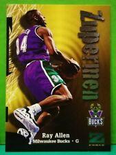 Ray Allen subset card Zupermen 1997-98 Skybox Z-Force #198